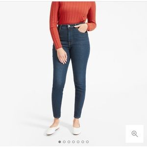 Everlane Authentic Stretch High Rise Skinny 29T